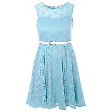 Buy True Decadence Lace Sweetheart Dress, Light Blue Online at johnlewis.com