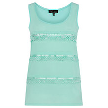Buy Warehouse Lace Grosgrain Vest Online at johnlewis.com