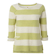 Buy White Stuff Stripey Knit Jumper, Pistachio Online at johnlewis.com