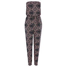 Buy Warehouse Print  Bandeau Jumpsuit, Multi Online at johnlewis.com