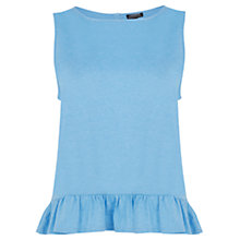 Buy Warehouse Frill Hem Top Online at johnlewis.com