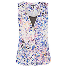 Buy Warehouse Dapple Print Vest Top, Multi Online at johnlewis.com