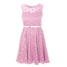 Buy True Decadence Lace Sweetheart Dress, Light Pink Online at johnlewis.com