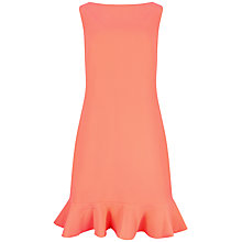 Buy Ted Baker Omelia Frill Hem Tunic Dress, Light Orange Online at johnlewis.com
