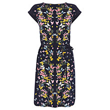 Buy Oasis Butterfly Placement Dress, Multi Blue Online at johnlewis.com