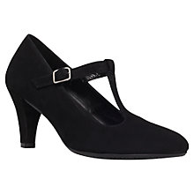 Buy Carvela Anna Court Shoes, Black Online at johnlewis.com