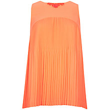 Buy Ted Baker Clauda Pleated Top Online at johnlewis.com