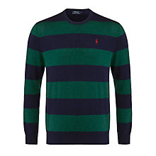 Buy Polo Ralph Lauren Loryelle Merino Wool Crew Neck Jumper Online at johnlewis.com
