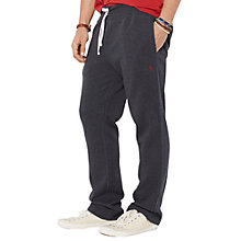Buy Polo Ralph Lauren Jersey Contrast Draw-String Jogger Trousers, Onyx Heather Online at johnlewis.com