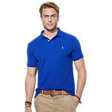 Buy Polo Ralph Lauren Pique Cotton Polo Shirt Online at johnlewis.com