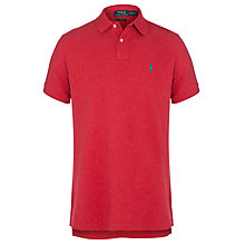 Buy Polo Ralph Lauren Pique Polo Shirt Online at johnlewis.com