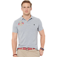 Buy Polo Ralph Lauren USA Flag Polo Shirt, Andover Online at johnlewis.com