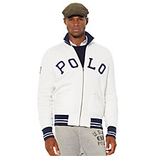 Buy Polo Ralph Lauren Zipped Track Top Online at johnlewis.com