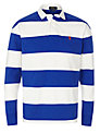 Polo Ralph Lauren Rugby Shirt, White/Blue