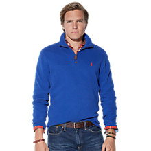 Buy Polo Ralph Lauren Zipped Neck Sweater Online at johnlewis.com