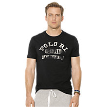 Buy Polo Ralph Lauren Print Logo T-Shirt Online at johnlewis.com