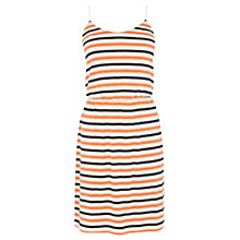 Buy Oasis Stripe Cami Dress, Orange Stripe Online at johnlewis.com