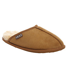 Buy Just Sheepskin Donmar Slippers, Chestnut Online at johnlewis.com