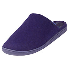 Buy Totes Check Lined Mule Wool Slippers Online at johnlewis.com