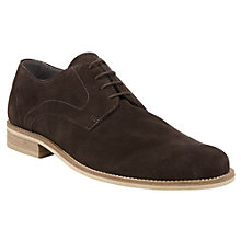 Buy Kin by John Lewis Bobby Suede Derby Shoes, Anthracite Online at johnlewis.com