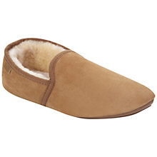 Buy Just Sheepskin Garrick Slippers, Chocolate Online at johnlewis.com