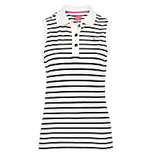 Buy Joules Cheeky Polo Top, Blue Stripe Online at johnlewis.com