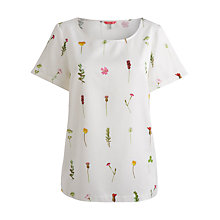 Buy Joules Gardenia Top, Botanic Online at johnlewis.com