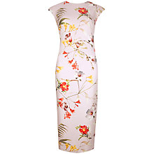 Buy Ted Baker Botanical Bloom Dress, Pale Pink Online at johnlewis.com