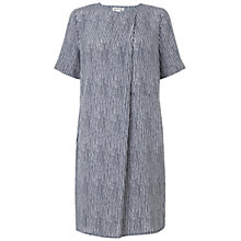 Buy Whistles Stripe Adrianne Dress, Navy Online at johnlewis.com