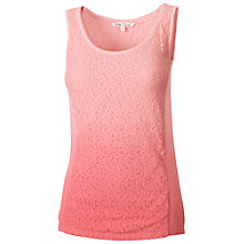 Buy Fat Face Seaford Lace Panel Tank Top Online at johnlewis.com