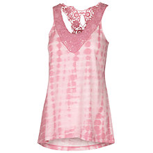 Buy Fat Face Bala Crochet Neck Camisole Online at johnlewis.com