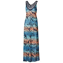 Buy Fat Face Anderby Ombre Palm Dress, Multi Online at johnlewis.com