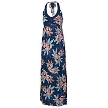 Buy Fat Face Bembridge Floral Halter Maxi Dress, Navy Online at johnlewis.com