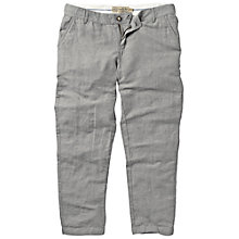 Buy Fat Face Linen Mix Ankle Grazer Trousers Online at johnlewis.com