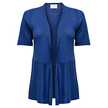Buy East Short Sleeve Linen Cardigan, Nautical Online at johnlewis.com