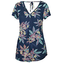 Buy Fat Face Milford Tropical Floral T-Shirt, Blue Online at johnlewis.com