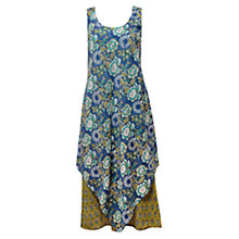 Buy East Gracie Print Dress, Ocean Online at johnlewis.com