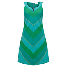 Buy East Dye Cotton Dress, Ocean Online at johnlewis.com