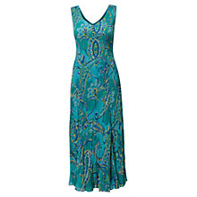 Buy East Capri Maxi Bubble Dress, Ocean Online at johnlewis.com