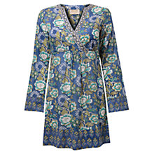 Buy East Gracie Print Tunic Top, Ocean Online at johnlewis.com