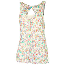 Buy Fat Face Mumbles Tropical Floral 2 In 1 Cami, Ivory Online at johnlewis.com