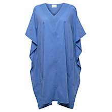 Buy East Embroidered Kaftan, Ocean Online at johnlewis.com