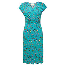Buy East Suzi Band Detail Dress, Ocean Online at johnlewis.com