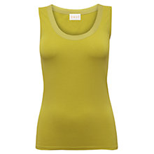 Buy East Multi Stitch Cotton Vest Online at johnlewis.com