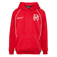 Buy Redland High School Girls' Hooded Top, Red Online at johnlewis.com