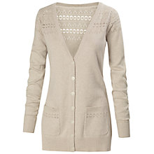 Buy Fat Face Pointelle Boyfriend Cardigan Online at johnlewis.com