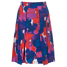 Buy Jigsaw Art House Print Skirt, Multi Online at johnlewis.com
