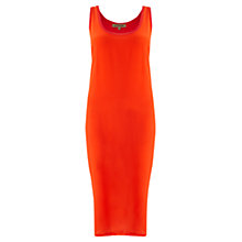 Buy Jigsaw Silk Front Jersey Tank Dress Online at johnlewis.com