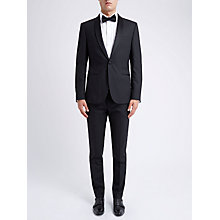 Buy Ben Sherman Tailoring Camden Fit Prince of Wales Dinner Jacket, Black Online at johnlewis.com