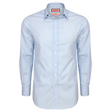 Buy Thomas Pink Galway Stripe Shirt, Pale Blue/White Online at johnlewis.com